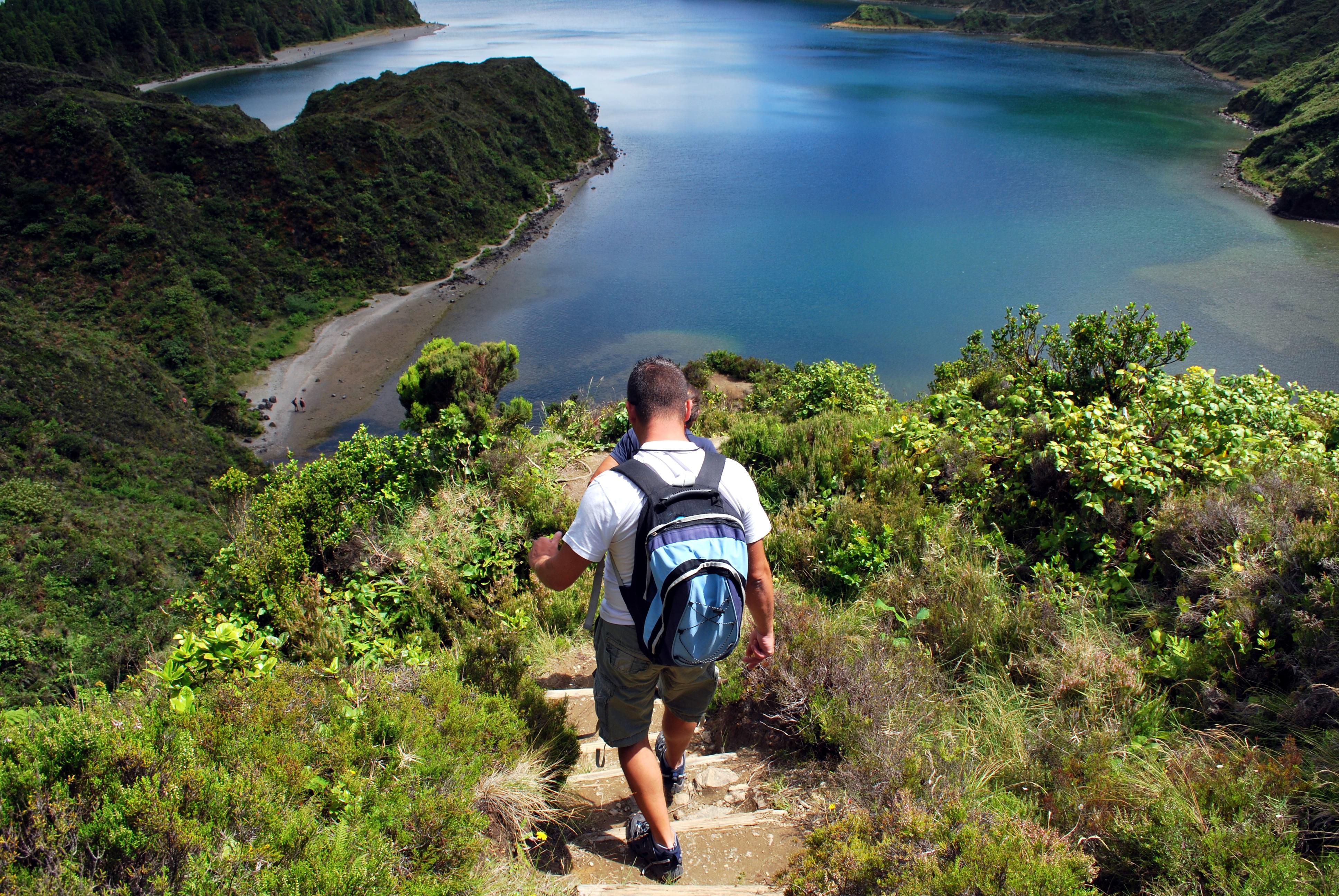 Azoren_Wanderung Lagoa do Fogo 1_Sao Miguel
