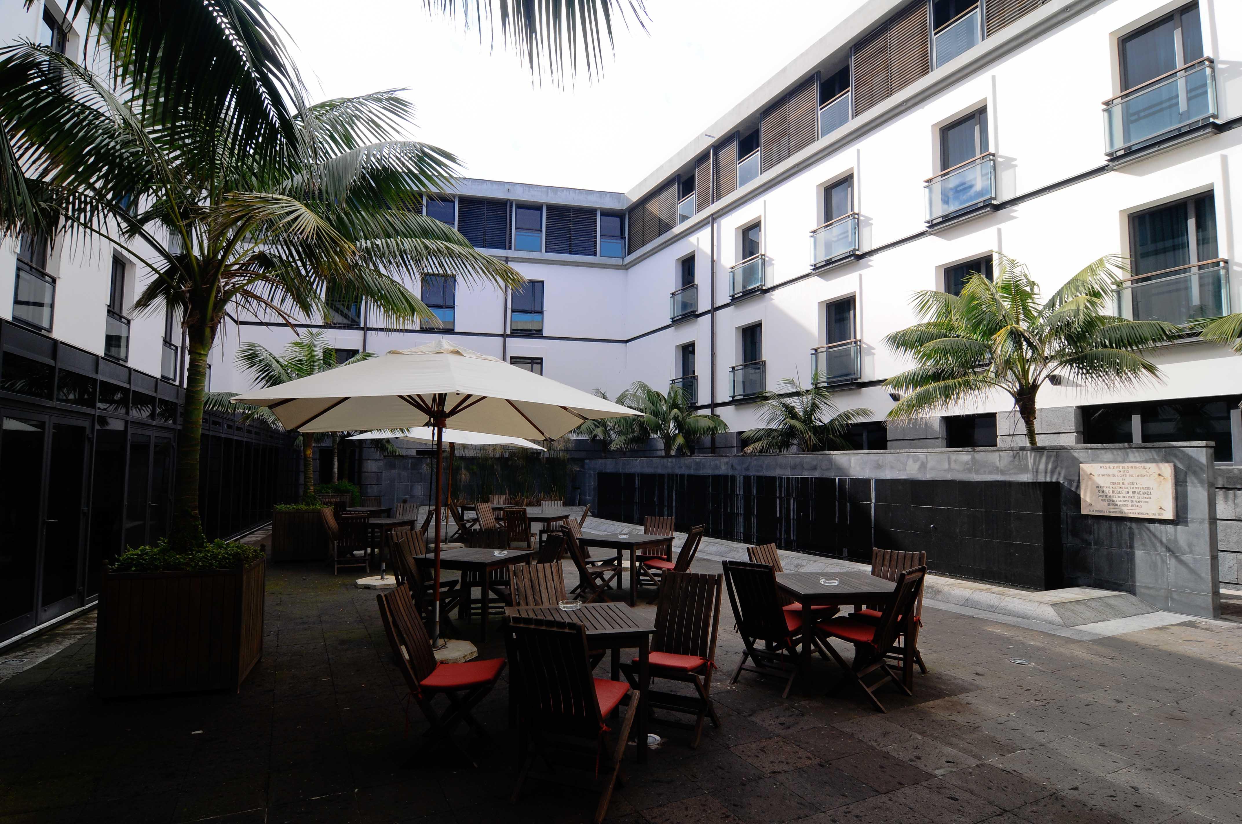 Hotel do Canal_Innenhof