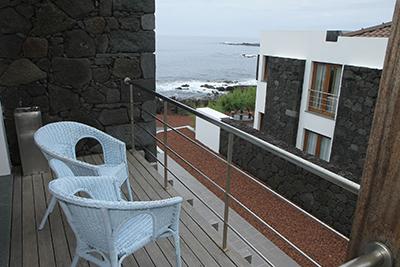 Baia da Barca_Balkon Apartments Meerblick