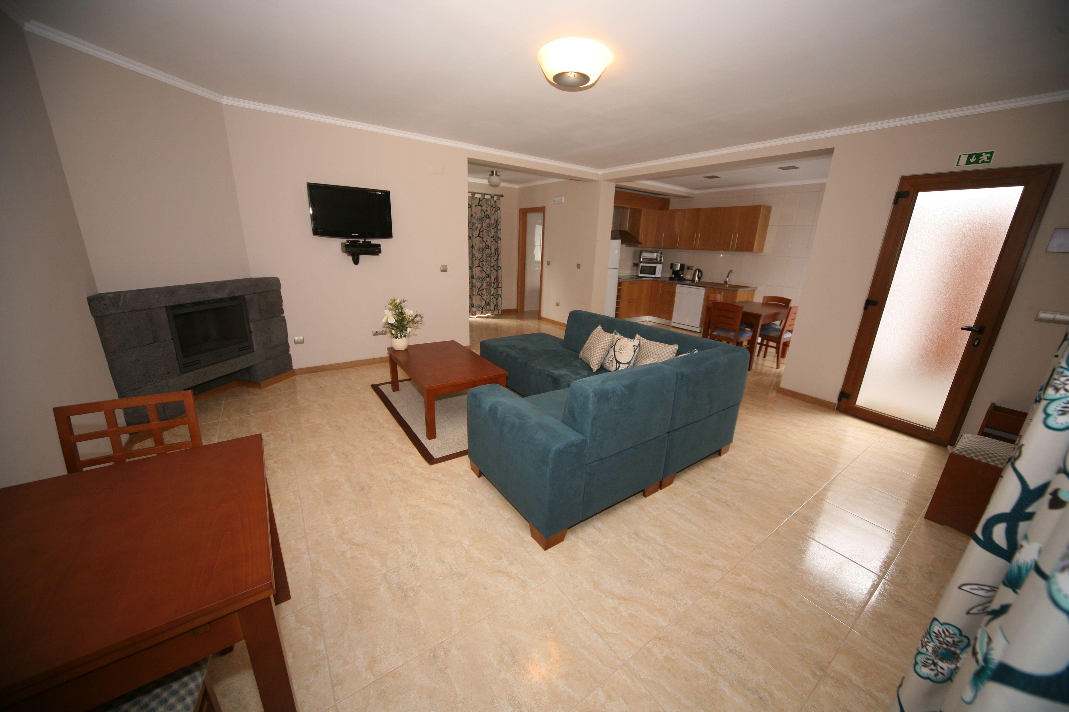Baia da Barca_Beispiel Wohnbereich T2-Apartment