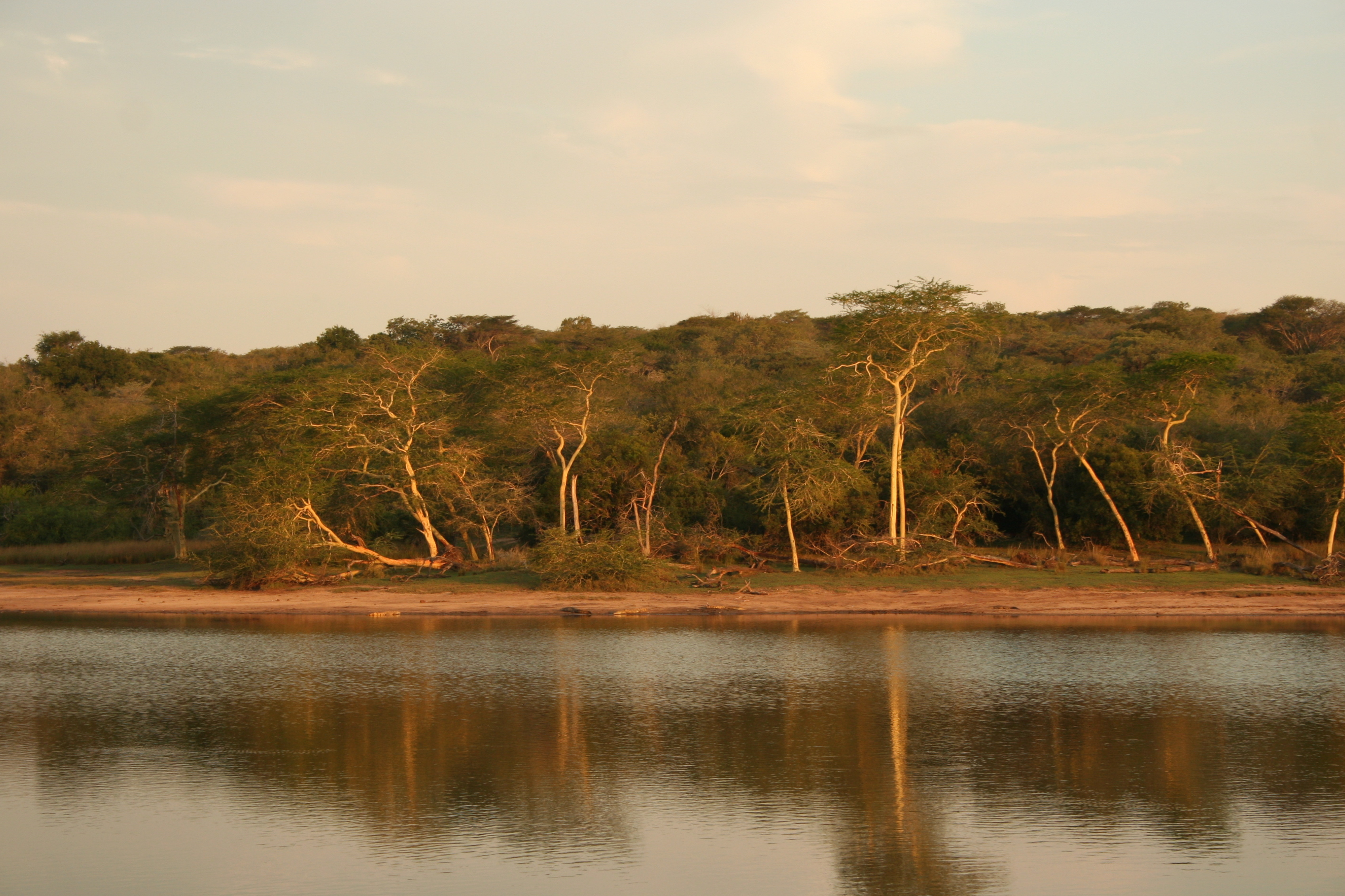Suedafrika Kleingruppenreise - Flusslandschaft - Hluhluwe - Imfolzi Game Reserve - Suedafrika