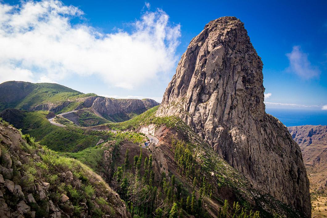 Roque Agando, einer der schönsten Berge La Gomeras