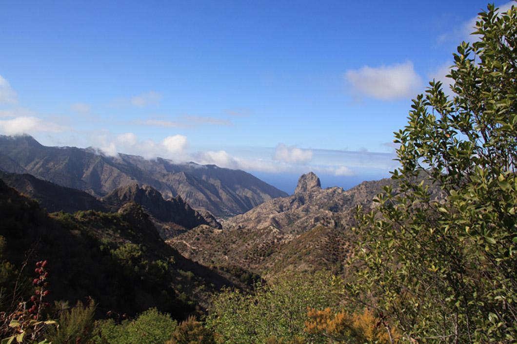 Blick auf Roque Cano