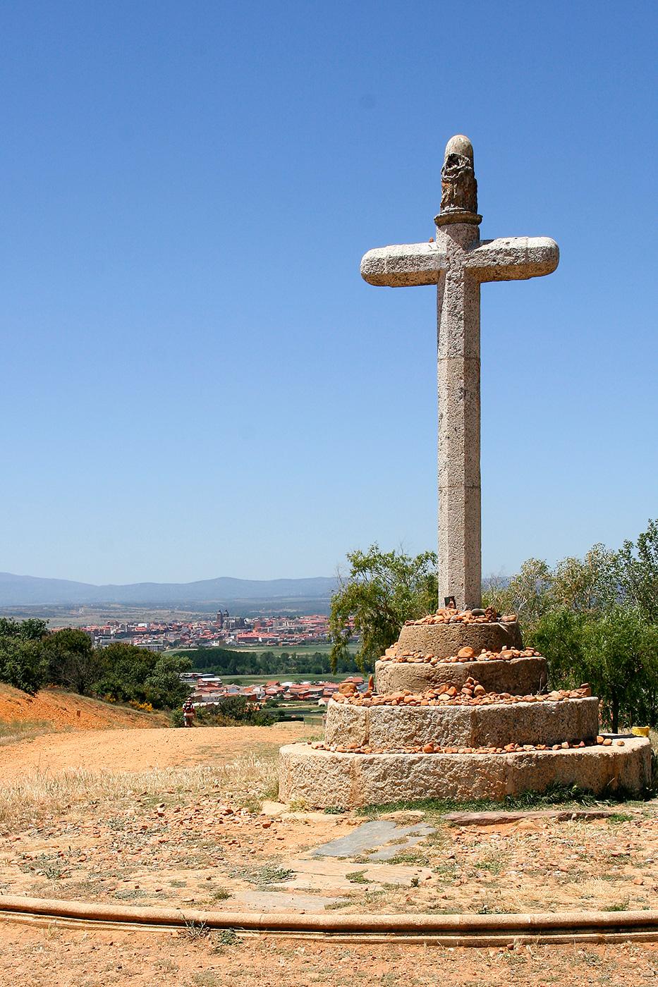 Wegkreuz vor Astorga