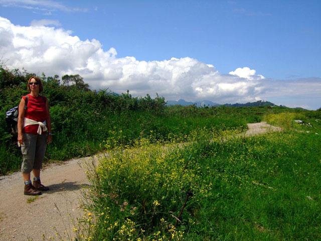 Pilgerin auf Camino del Norte
