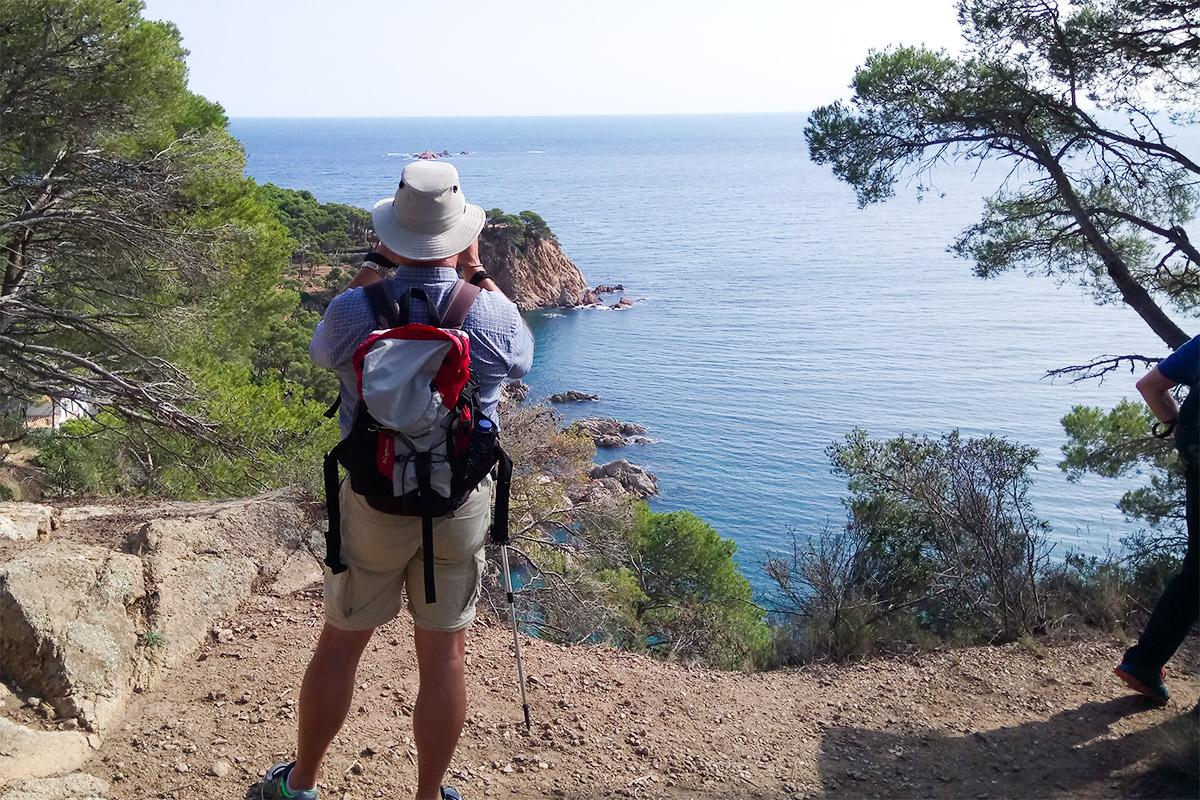Küstenblick Wanderung