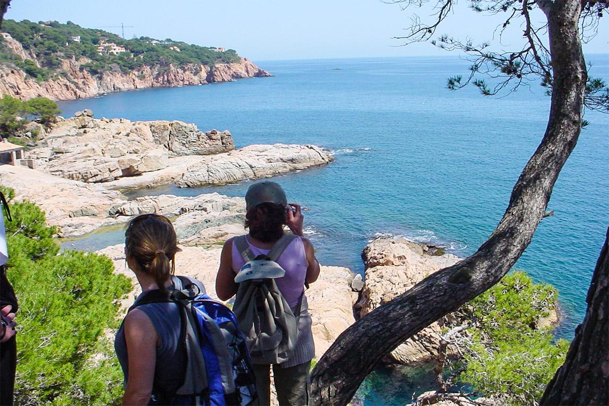 Versteckte Bucht Costa Brava