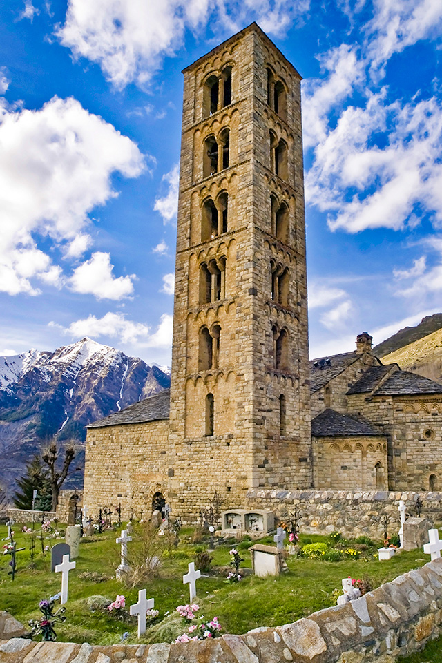 Kirche Sant Cliemt de Taull in Boi